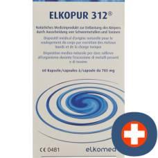 Elkopur 312 kaps 60 pcs