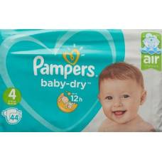 Pampers baby dry maxi 9-14kg gr4 austerity package 44 pcs