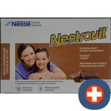 Nestrovit milk chocolate tablets 100 pcs