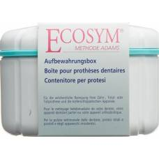 Ecosym storage box for denture
