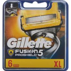 Gillette fusion5 proshield skin protection system blades skin grounding system kling 6 pcs