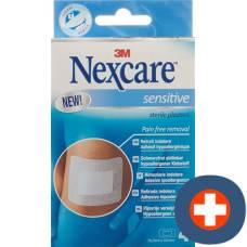 3m nexcare sensitive skin sterile pads 76.2x101mm 4 pcs