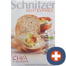Schnitzer organic chia quinoa bread 500g