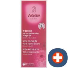 Weleda wild rose harmonizing care oil glasfl 100 ml