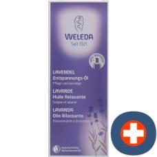 Weleda lavender oil relaxation glasfl 100 ml