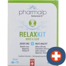 Pharmalp relaxkit boost & sleep tbl blist 20 pcs