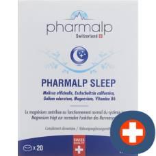 Pharmalp sleep tablets 20 pcs