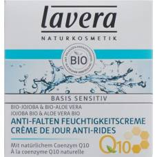 Lavera anti-wrinkle moisturizer q10 basis sensitiv 50 ml