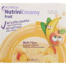 Nutrini creamy summer fruits fruit 4 x 100 g