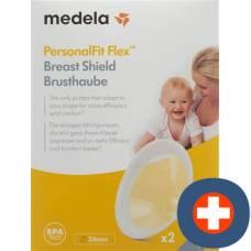 Medela personalfit flex breastshields m 24mm 2 pcs