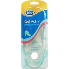 Scholl gelactiv insoles boots for you 1 pair