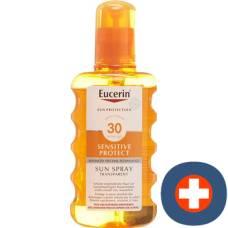 Eucerin sun sensitive protect spf30 sun spray transparent fl 200 ml