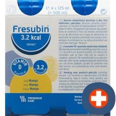 Fresubin 3.2 kcal drink mango 4 x 125 ml