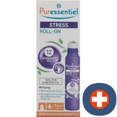 Puressentiel stress roll-on ml with 12 essential oils fl 5