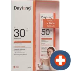 Daylong protect & care face fluid spf50 + 50ml + & body spf30 200ml - 20%