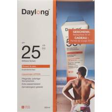 Daylong protect & care lotion spf25 200ml & travel size 50+ 50ml