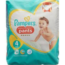 Pampers premium protection pants gr4 9-15kg maxi carrying pack 19 pcs