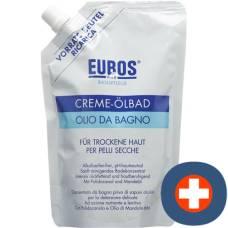 Eubos oil bath cream refill fl 400 ml