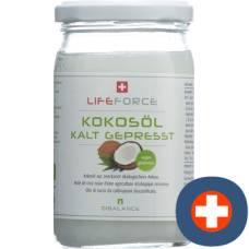 Qibalance coconut oil organic glass 250 ml