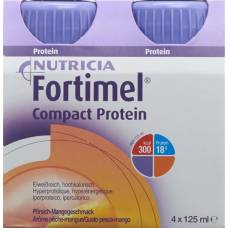 Fortimel compact protein mango 4 fl 125 ml