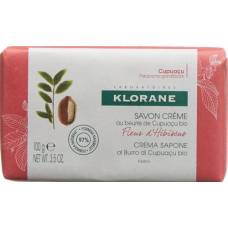 Klorane cream soap hibiskusblüte 100 g