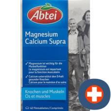 Abbey magnesium calcium supra filmtabl 42 pcs