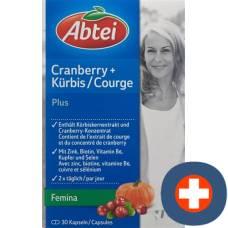 Abbey cranberry pumpkin + plus kaps 30 pcs