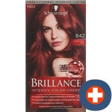 Brillance 842 cashmere red