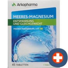 Arkopharma magnesium sea tablets ds 45 pcs