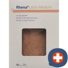 Rhena lastic medium 10cmx7m tan