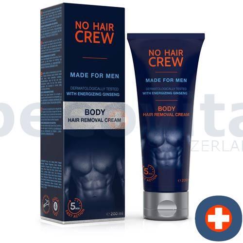 NO HAIR CREW body hair removal cream for men Tb 200 ml