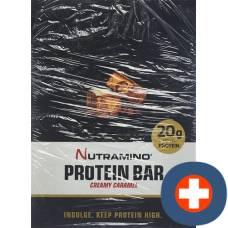 Nutramino protein bar caramel 12 x 64 g