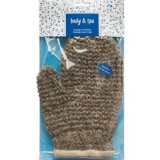 Herba massage glove horsehair and sisal