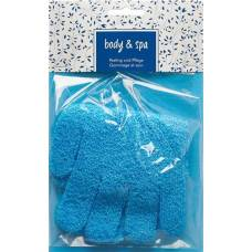 Herba exfoliating gloves turquoise 1 pair
