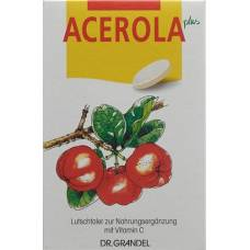 Dr grandel acerola plus lozenges taler vitamin c 60 pcs
