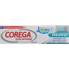 Corega ultra haftcreme neutral tb 40 g