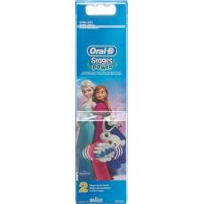 Oral-b stages power brush heads ice queen 2 pcs