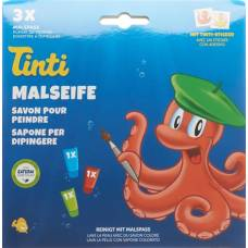 Tinti painting soap 3-pack german / french / italian