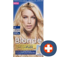 Schwarzkopf blonde l1 intensive brighteners
