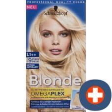 Schwarzkopf blonde l1 ++ extreme brighteners plus
