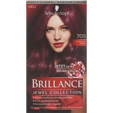 Brillance 705 dark rubin
