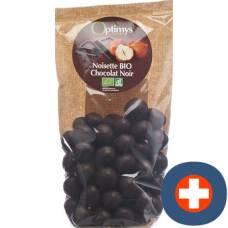 Optimy enjoyment hazelnuts dark chocolate bio 150 g