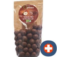 Optimy enjoyment hazelnuts milk chocolate bio 150 g