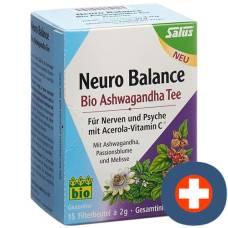 Salus neuro balance ashwagandha tea organic btl 15 pcs