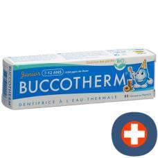 Buccotherm toothpaste 7-12 years iced peach-bio (fluorine) 50 ml