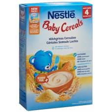 Nestlé baby cereals milk semolina 4 months 450g