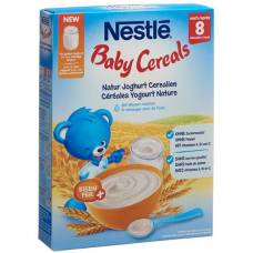 Nestlé baby cereals natural yoghurt 8 months 250g
