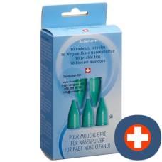 Actipharm nasal prongs 10 pcs