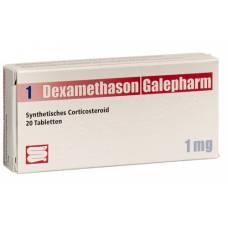 Dexamethasone galepharm tabl 1 mg 20 pcs