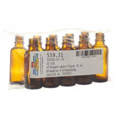 Anwander round lukas dropper bottle 30ml 10 pcs